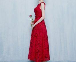 Une robe idéale pour un mariage en été